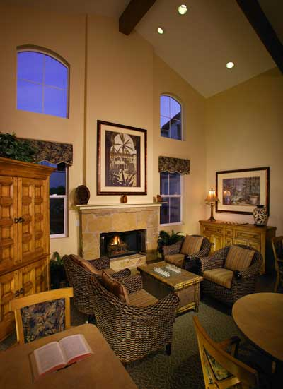 The Jasmine Senior Apartments interior view